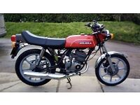 1981 gilera 125 two stroke rare bike