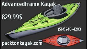 kayak portable(gonflable) haut de gamme /advancedframe kayak