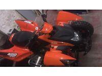 "•For Sale• Quadzilla 400cc sport ""Fully Road Legal Quad"""