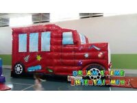 Airquee Disco Party Bus Bouncy castle