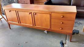 Retro teak sideboard (delivery available)