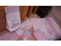 Molly and Mia Cot / Cot Bed Bedding Bundle (Next)