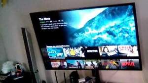 Smart TV with stand
