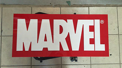 Marvel Wall Sign