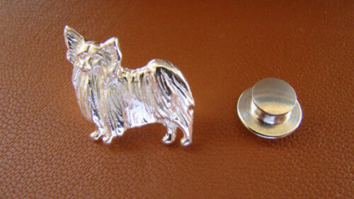Sterling Silver Papillon Lapel Pin