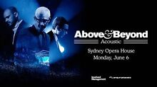 ABOVE AND BEYOND ACOUSTIC JUNE 6  - 2 TICKETS MUST BE SOLD Ermington Parramatta Area Preview