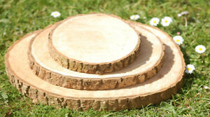 Rustic Wedding Decor--wood slices, cake stands.... Kitchener / Waterloo Kitchener Area image 7