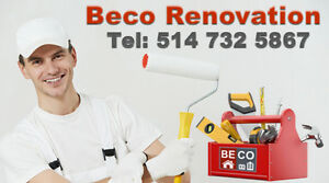 BECO Renovations, Interior and exterior Renovations