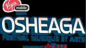 (4) Osheaga 3-Day Weekend Passes for Cheap***
