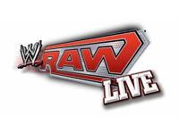 2 x WWE TV RAW Live Glasgow Tickets - 7/11/16 - UK Postage available.