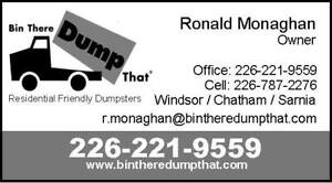 Bin There Dump That ,,, Dumpsters Rentals