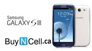 MINT SAMSUNG GALAXY S3 + 3 MONTHS OF WARRANTY - 6 STORES