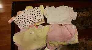 Girls onesies 0-12 mos 24 of them for $15 Kitchener / Waterloo Kitchener Area image 1