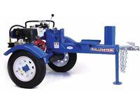 Wallenstein wx 910 20 Ton Petrol towable hydraulic Logsplitter
