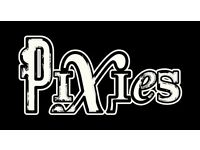 2 x PIXIES tickets at face value