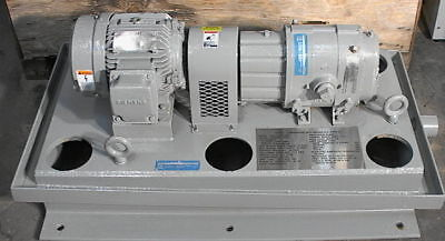 Tuthill 3202-57t3 Air Blower Vacuum Pump 22.6 Cfm 3hp