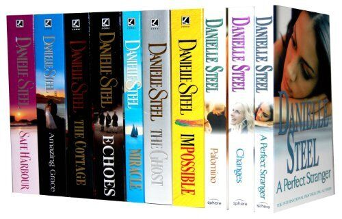 Danielle Steel Collection 10 Books Set New RRP £70.90  