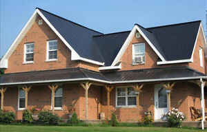 LOOKING TO MOVE QUICKLY AMERICANA BLACK ROOFING STEEL-IDEAL ROOF