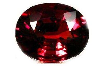 Red Spessart 3¾ct+ Antique 19thC Bavari - Ancient Greek Underworld God Hades Gem