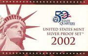 2002 State Quarter Silver Proof Set