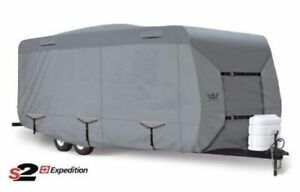 New S2 ExpeditionTravel Trailer RV Cover 21-22 Ft