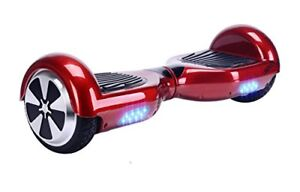 BRAND NEW RED HOVERBOARD BLURTOOTH