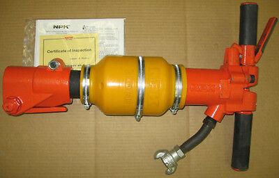 New Pneumatic Air Pavement Breaker Npk Cb153 2 Chisels Jack Hammer 1414