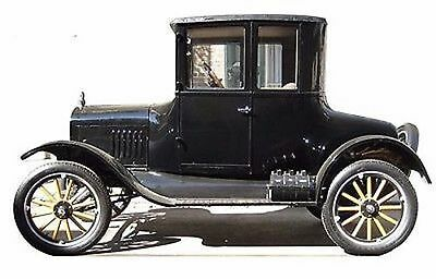 Classic Car 1920 Past Vintage Automobile Life Size Standup Cardboard Cutout - Life Size Cutouts
