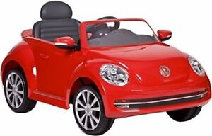 Volkswagen Beetle 6v Ride on [Barely used]  Red