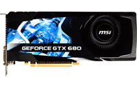 Barely used MSI GTX 680 2GB max any game 80.6% ASIC Quality!!!!