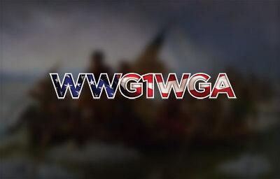 BOGO WWG1WGA DECAL  Q ANON QANON STICKER WHERE WE GO ALL