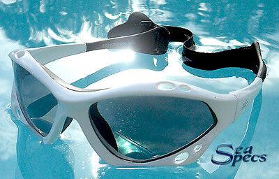 SeaSpecs Polarized White Lightning Water Sport Sunglasses FREE CASE + STICKER!
