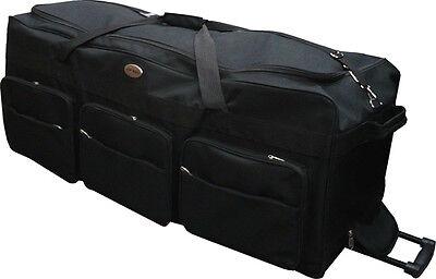 "42"" Polyester Rolling Wheeled Duffel Bag Travel Duffel Bag on Wheel - Heavy Duty"