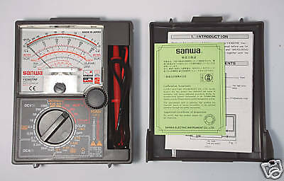 1pc Sanwa Linear Analog Multitester Yx-360trf Multimeters Japan