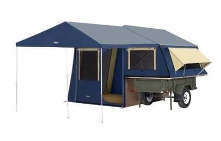 Ridgeline Lattitude Camper Trailer with sunroom