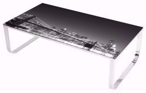 Coffee Table , Glass Stylish Coffee Table, New York Coffee Table