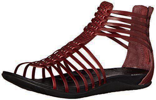 New Ahnu Asha Gladiator Sandals Women's Size 5-11 Oxblood 1013939OXB 1