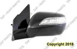Door Mirror Power Driver Side Heated With Signal With Memory Acura MDX 2010-2013