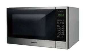 New Panasonic Microwave Oven |NNSG656S| 1.3 cu.ft, 1100W,