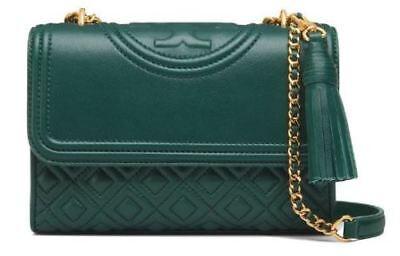 TORY BURCH Fleming Small Convertible Shoulder Bag 31382 [Norwood, Green]