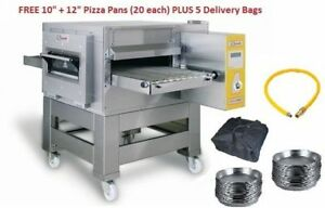 Conveyor Pizza Oven Zanolli Synthesis 08/50V Gas (20