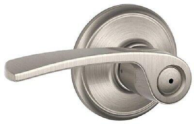 Schlage Lock Door Handle, Satin Nickel, Merano Design Privacy Lockset, Door knob