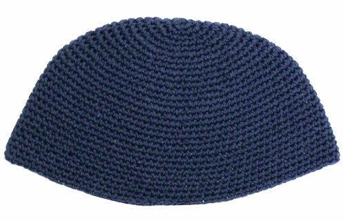 BIG JEWISH KIPPAH - Dark Blue