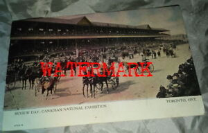 CANADIAN NATIONAL EXHIBITION (C.N.E.) POSTCARD, DATED, 1908