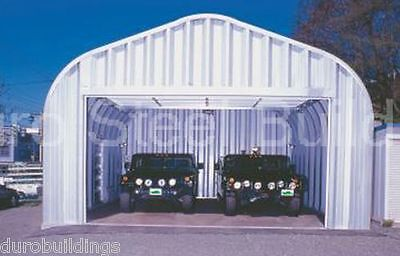 Durospan Steel 30x48x14 Metal Garage Building Storage Structure Factory Direct