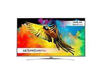 LG 60UH770V 60 inch Super Ultra HD 4K Smart TV webOS (2016 Model) - Silver [Energy Class A]