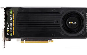 Zotac GTX 760 For Sale 100$