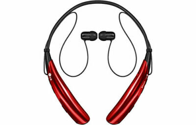 Genuine LG Tone Pro HBS-750 Wireless Bluetooth Stereo Headset - Red