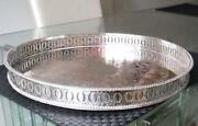 Silver on Copper Tray