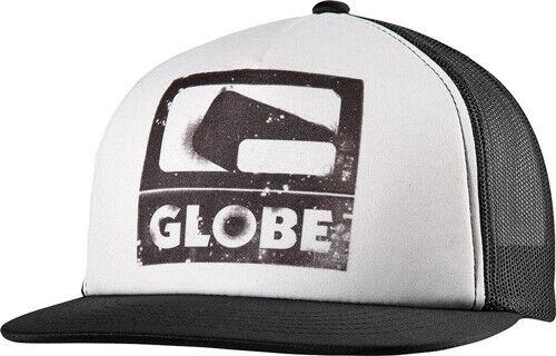 Globe Skateboard Hat Mesh Trucker Black Snapback